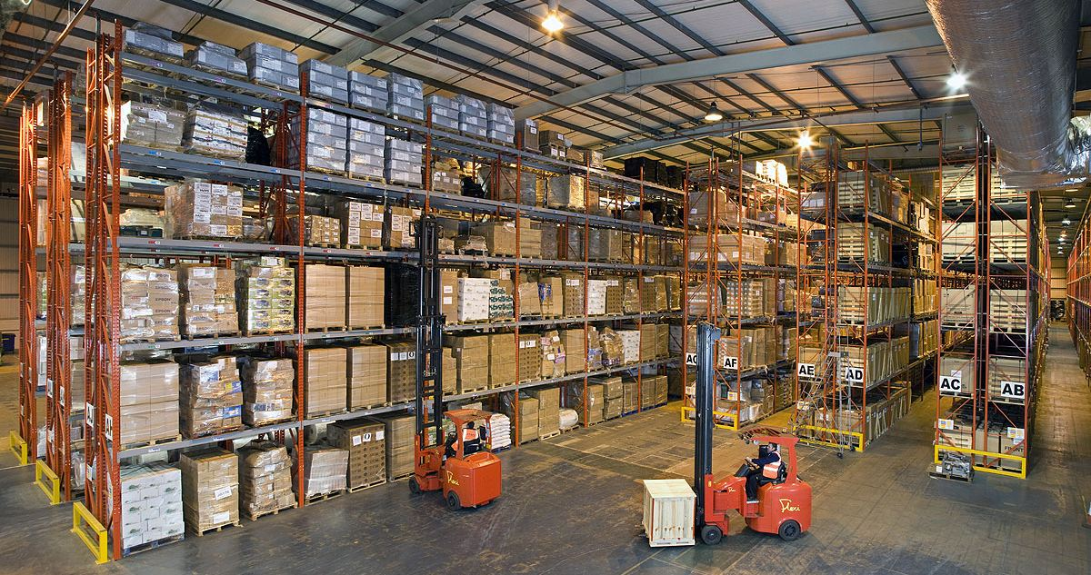 Redirack design, manufacture & install Pallet Racks for Simmonds Transport