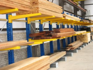 Internal Cantilever Racking for Timber Storage
