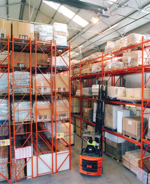 Double Deep & Wide Aisle Pallet Racks manufactured & supplied in UK by Redirack