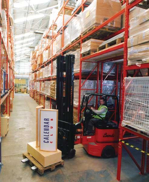 Redirack design, manufacture & install Bespoke Double Deep Pallet Racks
