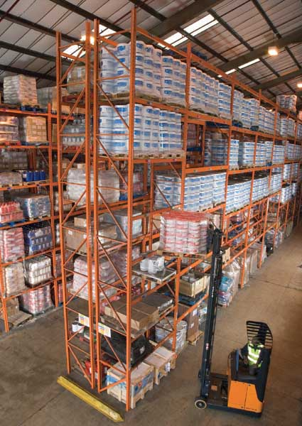 Redirack have many years experience in supplying Heavy Duty Racks to the Distribution Industry