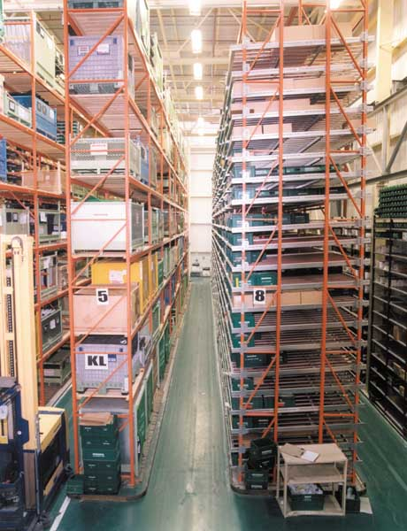 Redirack bespoke carton live storage system