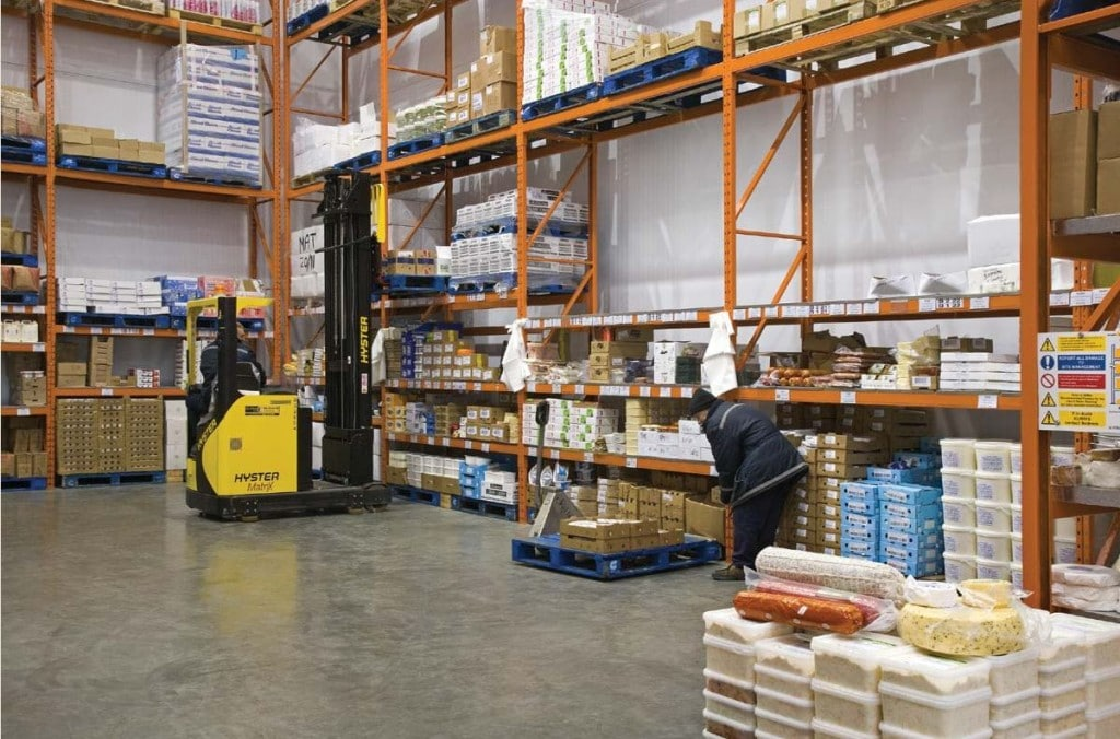 Pallet Racking Castell Howell Foods