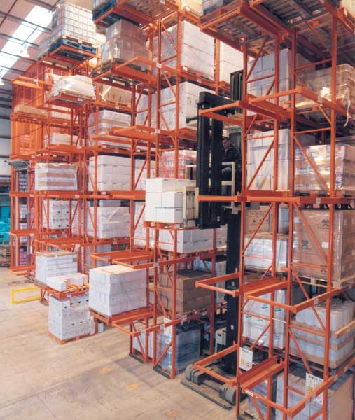 Highly Flammable Racking 3