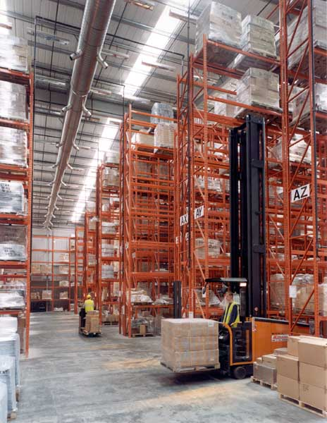 Redirack supply Selden Research with Heavy Duty Pallet Racking