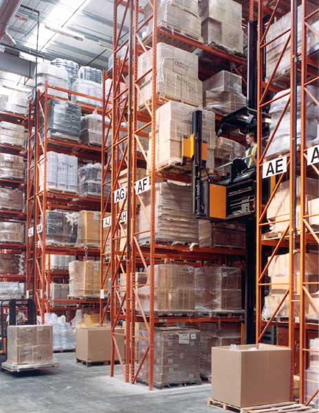 Chemicals manufacturer Selden Research select Redirack bespoke Pallet Racking