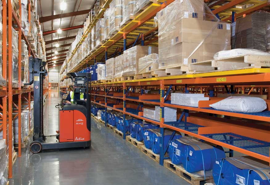 Pharmaceutical company AstraZenica selects Redirack Wide Aisle Racks for Warehouse facility