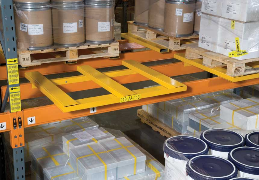 Redirack manufacture Bespoke Wide Aisle Pallet Racks in the UK