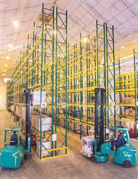 Redirack Wide Aisle Pallet Racking for Building Trade Warehouse