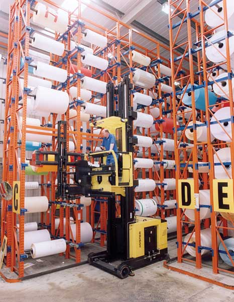 Redirack Narrow Aisle Pallet Racking is an extremely efficient storage solution