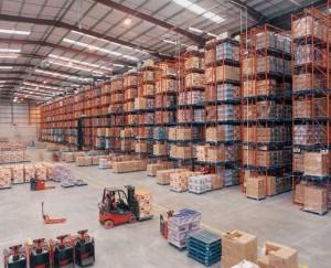 Redirack supply Argos Distribution Centre with 14 metre high Narrow Aisle Racks