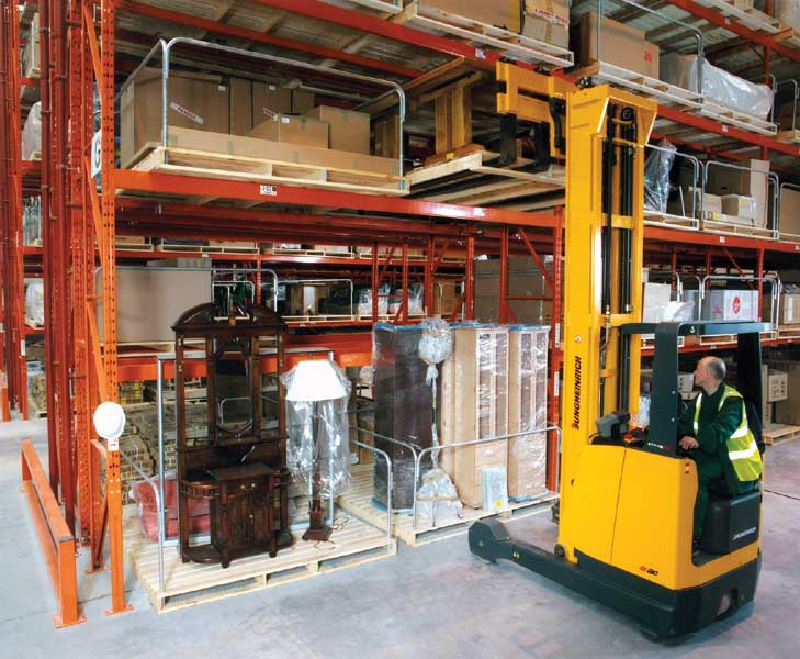 Bespoke Pallet Racking configurations designed and installed by Redirack