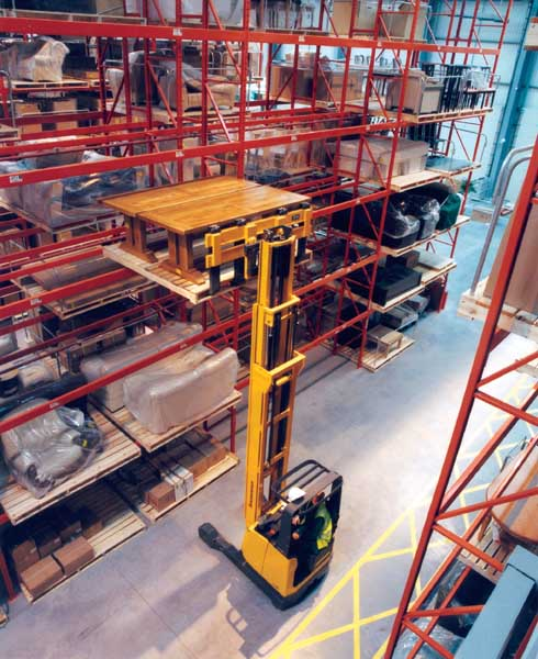 Redirack design, manufacture and install Adjustable Pallet Racking
