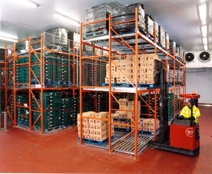 Redirack offer Bespoke Push-Back/Live Storage solutions in UK