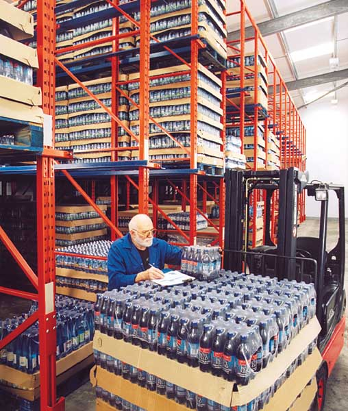 Drive-In Pallet Racking maximises available area for Cold Stores