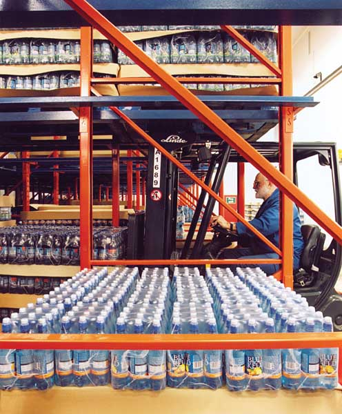 Drive-In Pallet Racking is ideal for ensuring product is protected whilst being stored