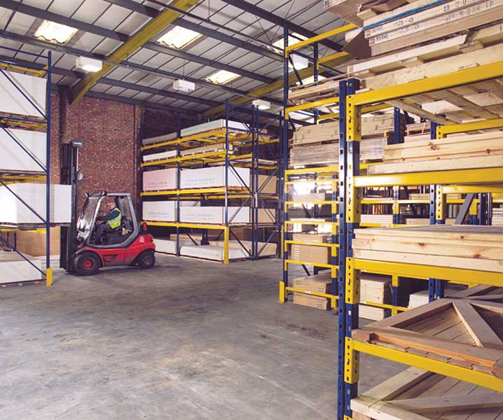 Redirack adjustable Pallet Racking for Ridgeons Colchester branch