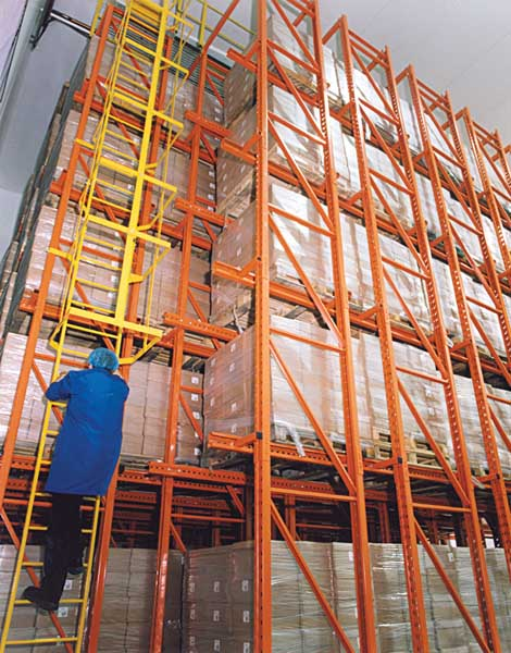 Drive-In Pallet Racking for Arla Foods