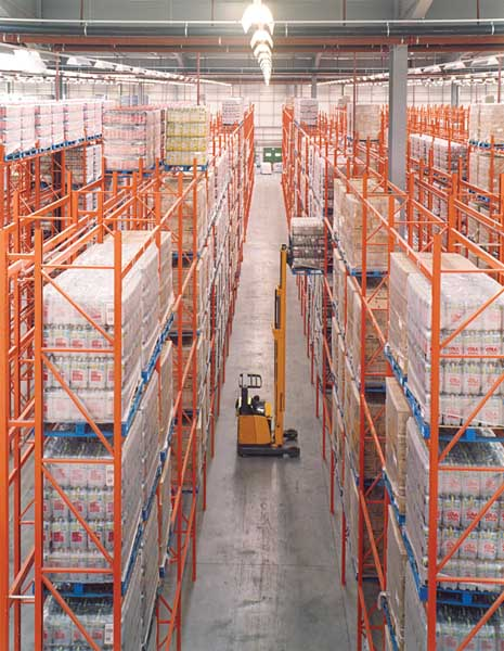 ASDA Superstore industrial racking - rr685