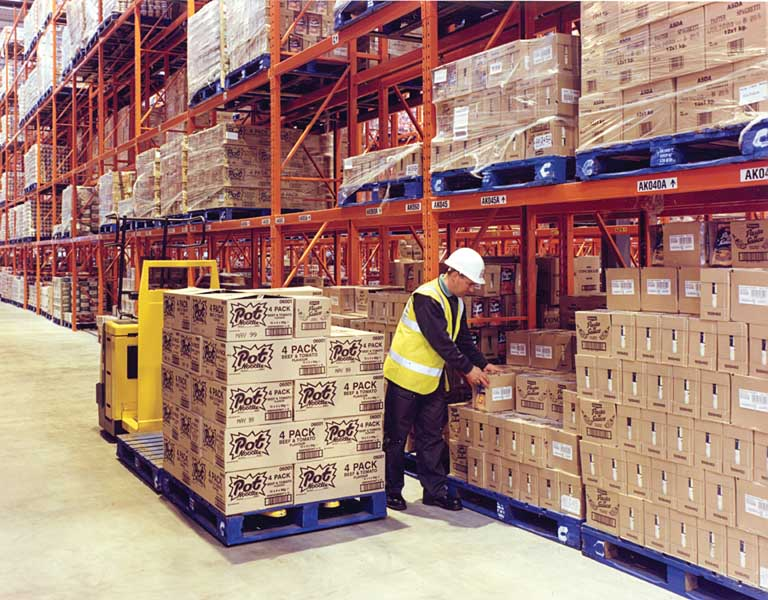 Redirack Pallet Racking Storage for ASDA'S National Warehouse