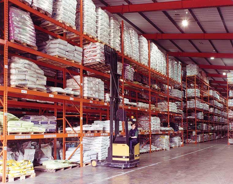 industrial racking for Advanta Seeds - rr664