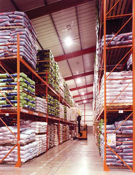 Food Industry Pallet Racking Solutions from Redirack