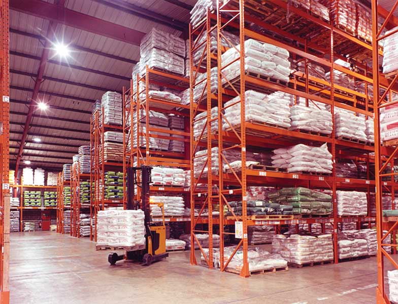 Food Industry Storage Racking from Redirack