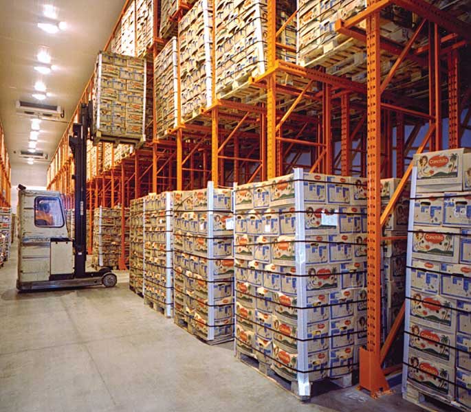 Redirack Drive-In Pallet Racking offers the perfect storage solution for slow-moving seasonal products