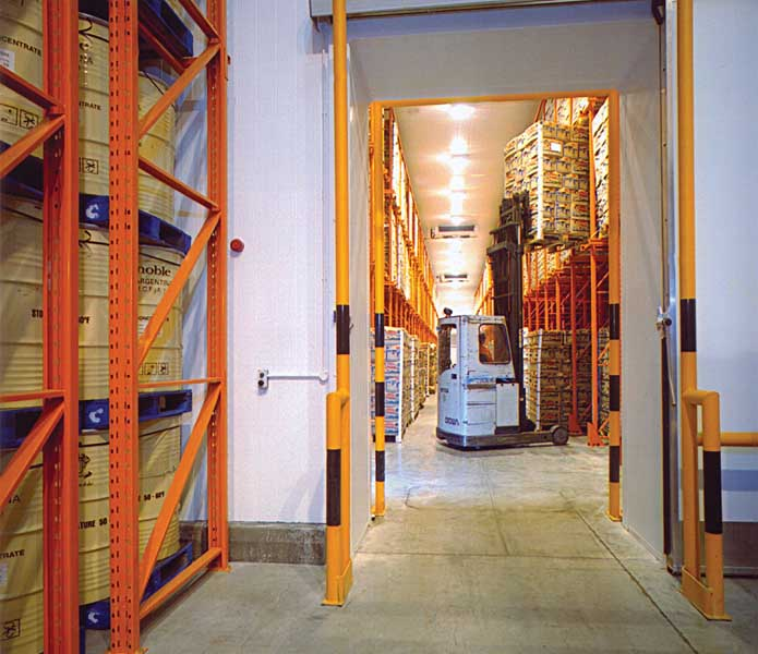 Redirack offer Bespoke Drive-In Pallet Racking solutions to the UK food sector