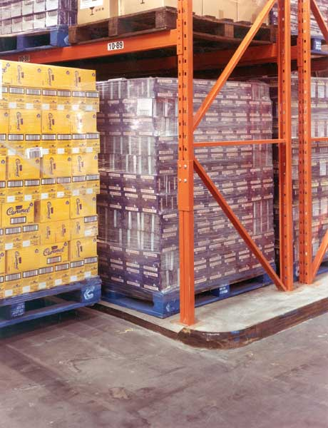 pallet stored