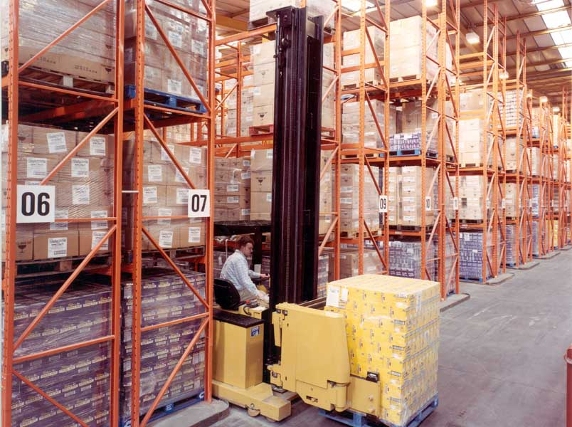Redirack Manufacture Narrow Aisle Pallet Racks