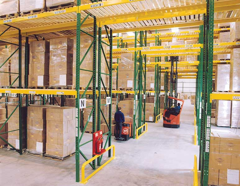 Chatsworth Bathrooms select Redirack Wide Aisle Racks for Distribution Centre