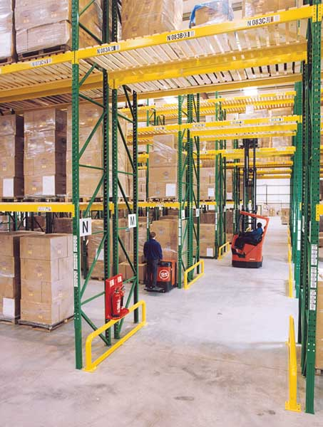 Redirack Wide Aisle Pallet Racks offer a Heavy Duty storage solution