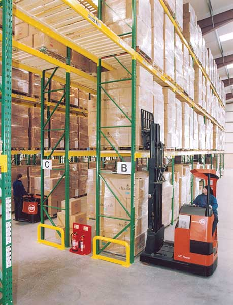 Redirack Wide Aisle Racks offer an easily adjustable solution for changing product lines