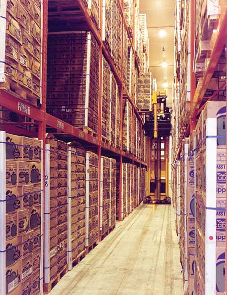 Narrow Aisle Racking is an extremely cost-effective storage solution