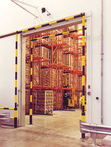 Redirack Narrow Aisle Pallet Racking made in the UK