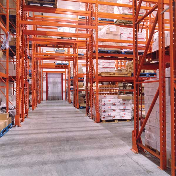 Redirack Wide Aisle Pallet Racking for cold chill storage Warehouse