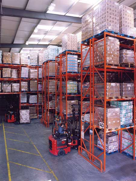 Narrow Aisle Pallet Racking from Redirack is an extremely efficient storage solution
