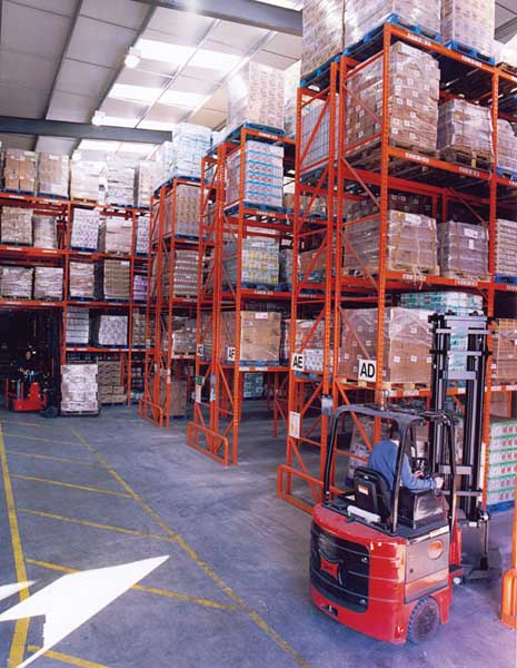 Redirack selected again for phase 2 of DCS Europe's warehouse