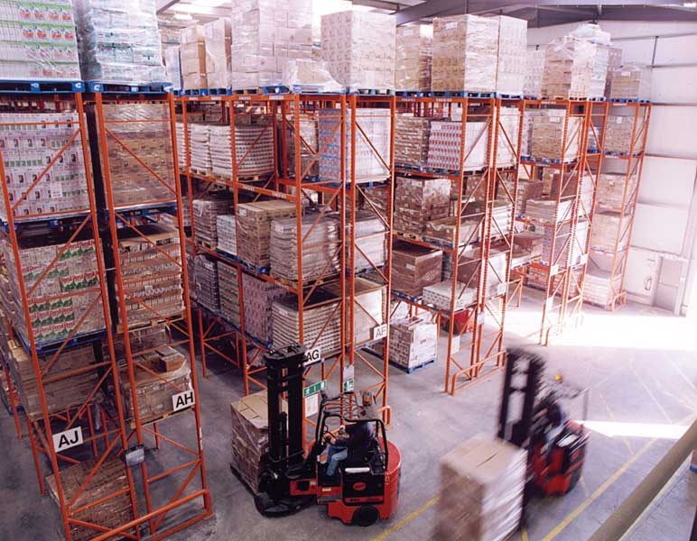 Redirack supply Narrow Aisle Pallet Racking solution to DCS Europe