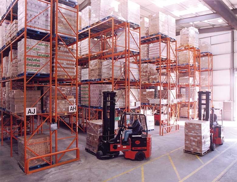 DCS Europe select Redirack Narrow Aisle Pallet Racking for new Distribution facility