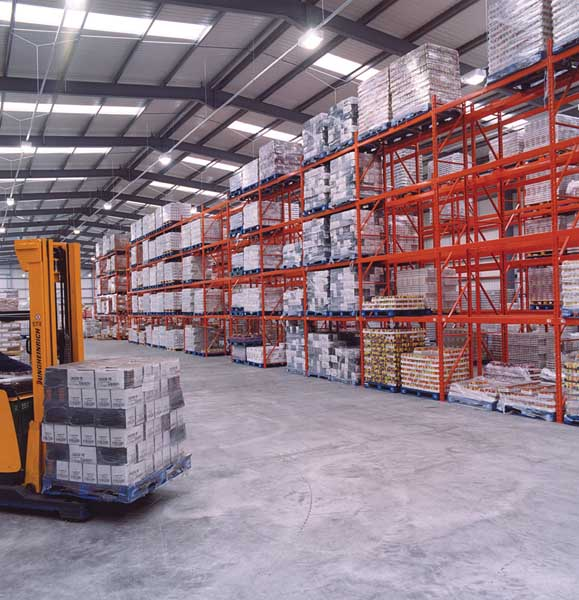 DCS Europe select Redirack to manufacture & install new Pallet Racking in warehouse
