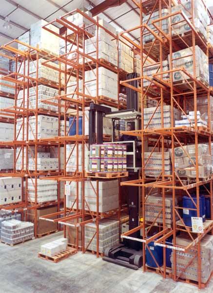 Hardware manufacturer George Wilkinson operations select Redirack High Bay Racks