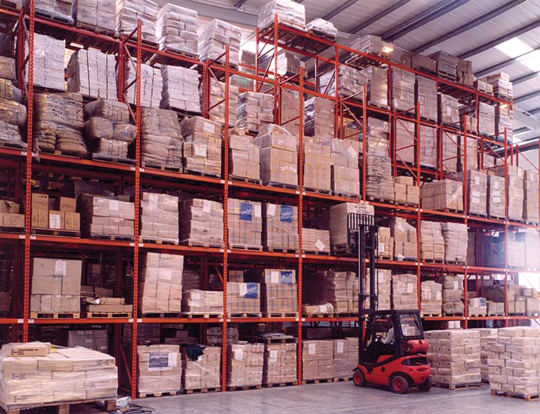 Redirack manufacture and install Warehouse Pallet Racking solutions in UK