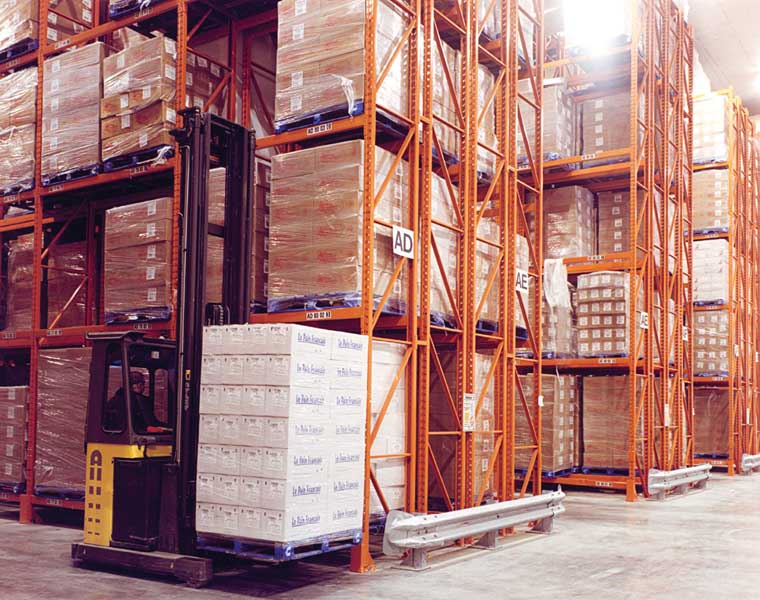 Double Deep Pallet Racking solutions from Redirack