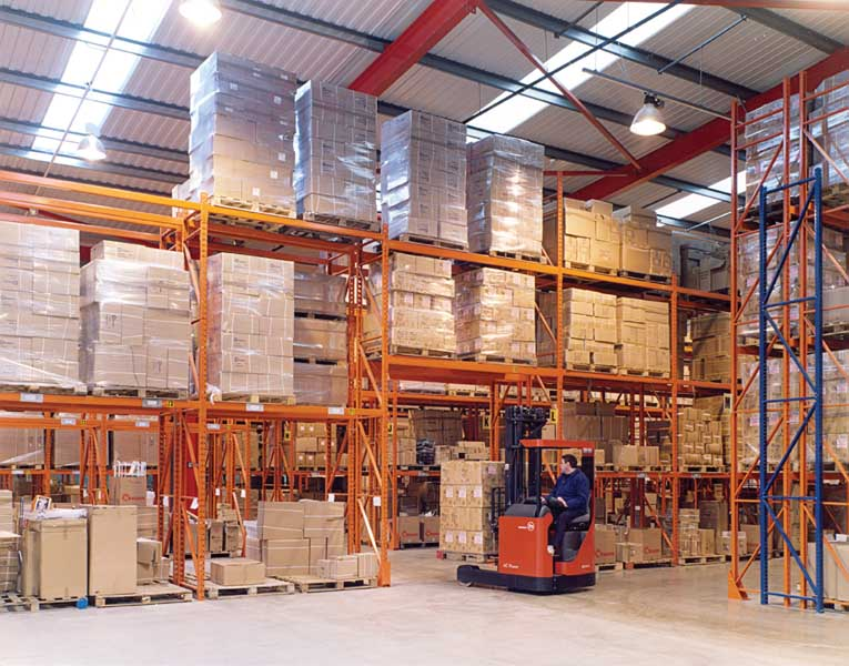 Redirack Wide Aisle Pallet Racking is designed to meet your specific requirements