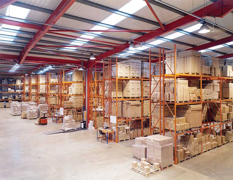 Manufacturers Metaltex choose Redirack Wide Aisle system for new warehouse