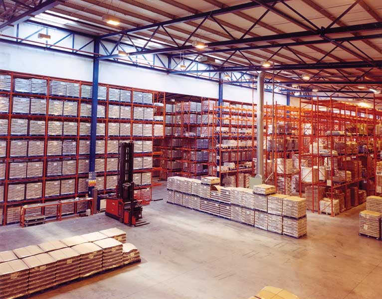 nutricia pallet racking