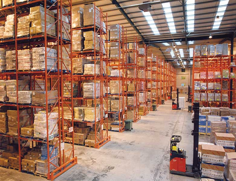 Poundland opts for Heavy Duty Industrial Racks manufactured by Redirack