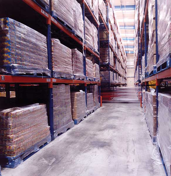 Narrow Aisle Racks from Redirack deliver storage solution for Swizzels Matlow